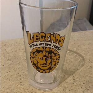 Legends of the hidden temple glass